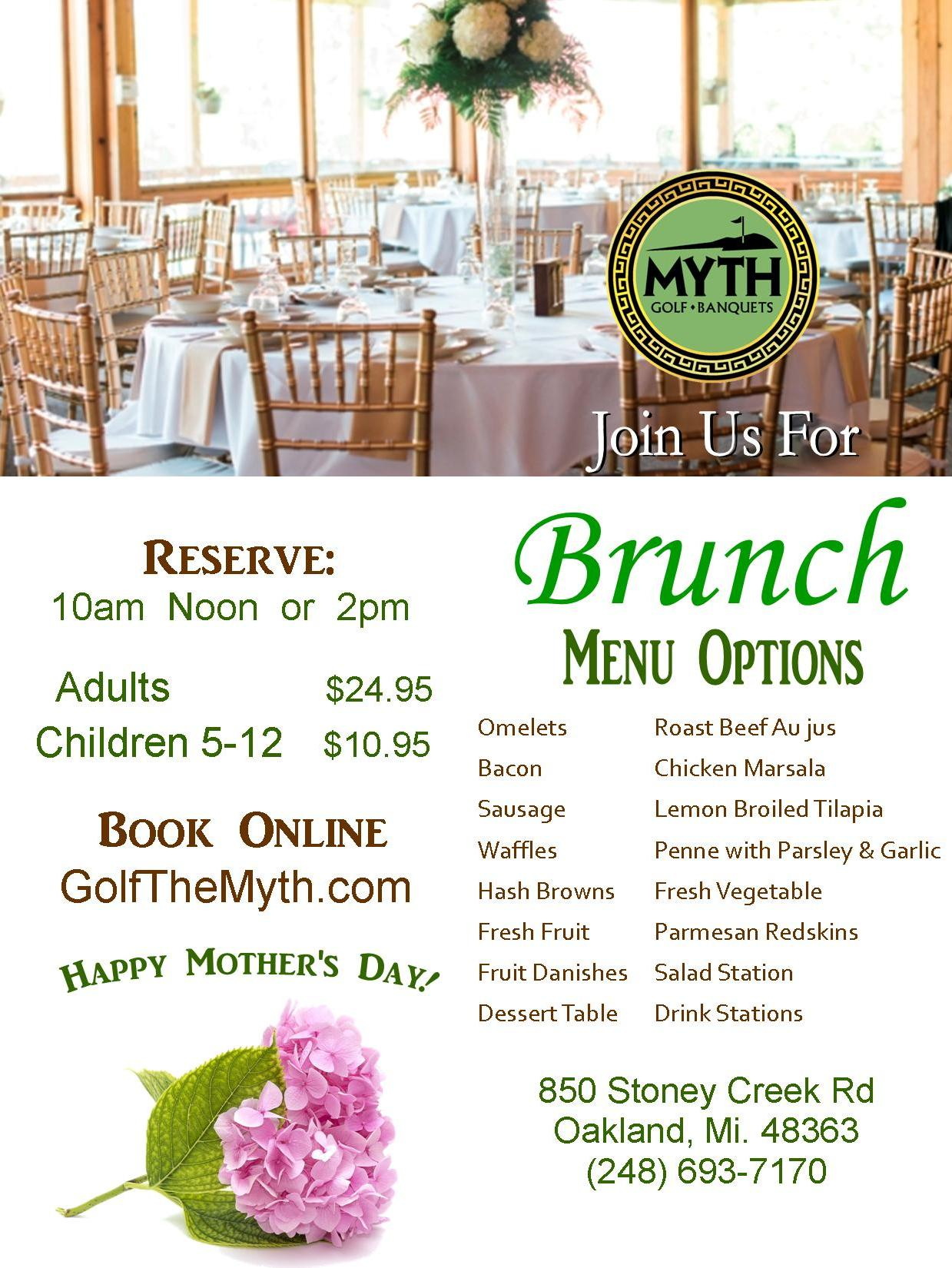 Sunday Brunch at the Myth