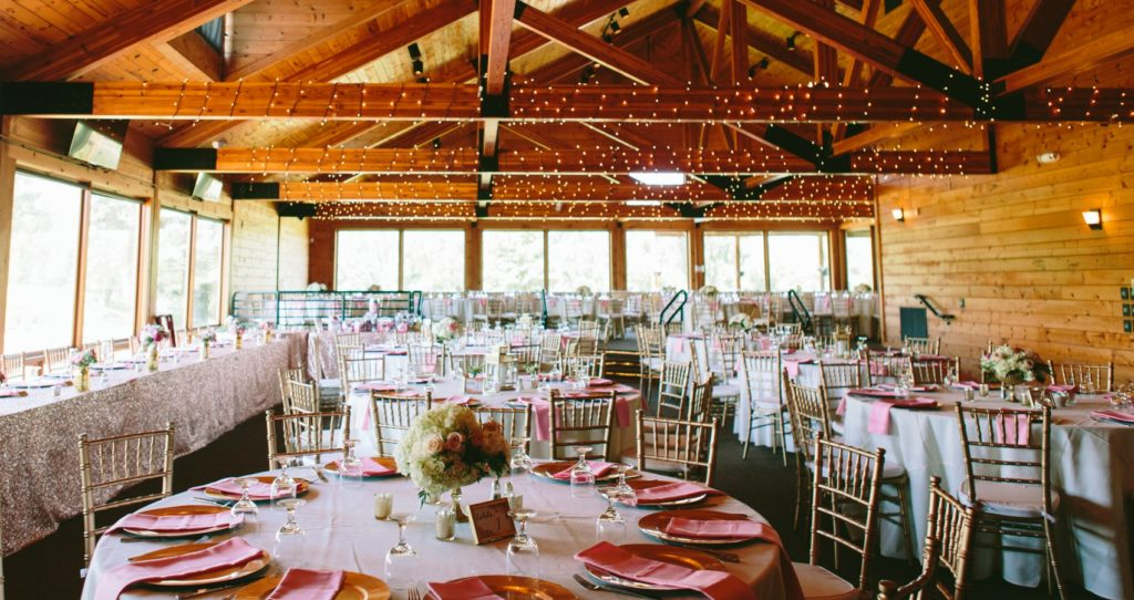 Barn style banquet at Myth wedding venue in Oakland County ...